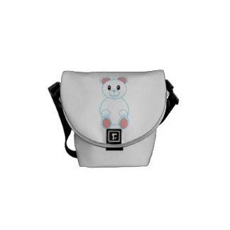 Polar Bear Mini Messenger Bags