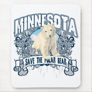 Polar Bear Minnesota Mouse Pad