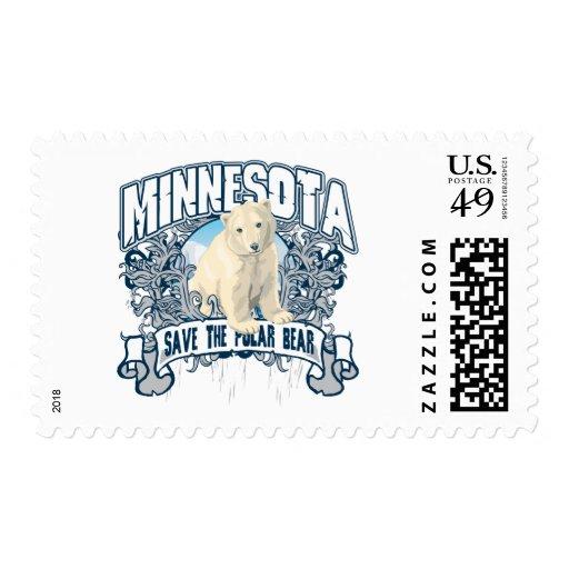 Polar Bear Minnesota Postage Stamps