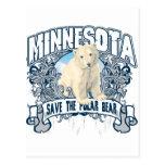 Polar Bear Minnesota Postcards