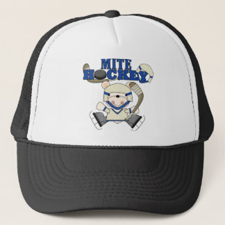 Polar Bear Mite Hockey Tshirts and Gifts Trucker Hat
