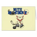 Polar Bear Mites Hockey Tshirts and Gifts Cards