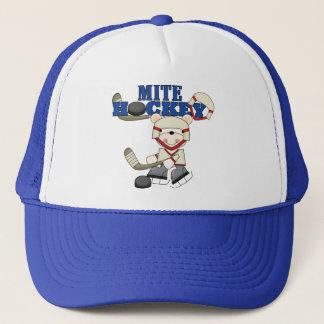 Polar Bear Mites Hockey Tshirts and Gifts Trucker Hat