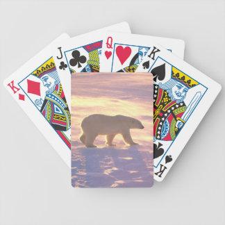 Polar Bear Morn 3 Bicycle Playing Cards