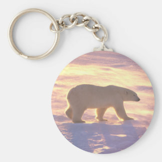 Polar Bear Morn 3 Keychain