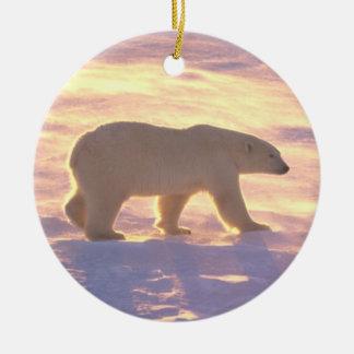 Polar Bear Morn 3 Ornament