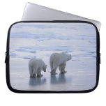Polar Bear Mother and Cub Computer Sleeves