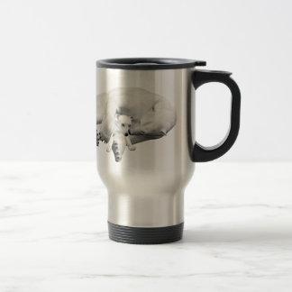 Polar Bear Mother & Child Stainless Steel Travel Mug