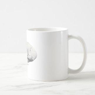 Polar Bear Mother & Child Basic White Mug