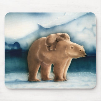 Polar Bear Mouse Pad