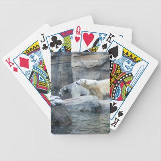 Polar Bear: Nakita and Berlin Bicycle Playing Cards