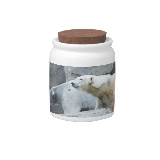 Polar Bear: Nakita and Berlin Candy Jar