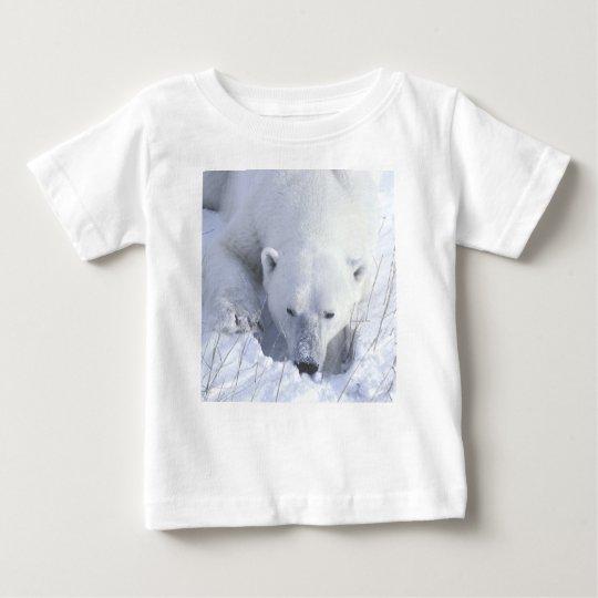 Polar Bear Nap Baby T-Shirt