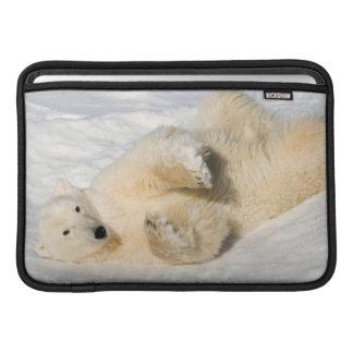 Polar Bear near Hudson Bay MacBook Air Sleeve