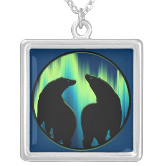 Polar Bear Necklace Wildlife Art Bear Necklace