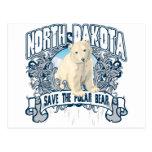 Polar Bear North Dakota Postcard