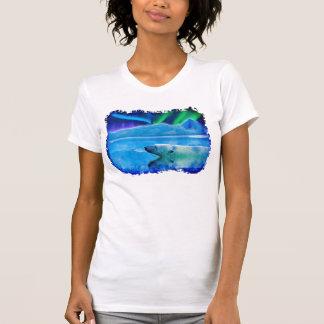 Polar Bear & Northern Lights Fantasy Shirt