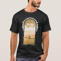Polar Bear On Black T-Shirt