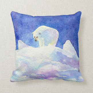 Polar Bear Throw Pillow : Polar Bear Pillows - Decorative & Throw Pillows Zazzle