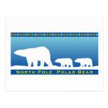 Polar Bear on Ice Postcards