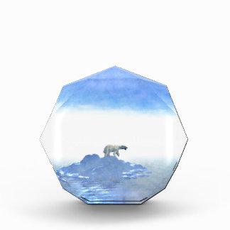 Polar Bear On Iceberg Award