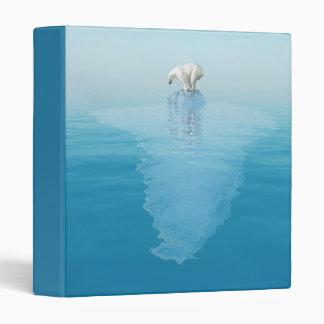 Polar Bear on Iceberg Binder