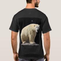 Polar Bear on Moon-Lit Night T-Shirt