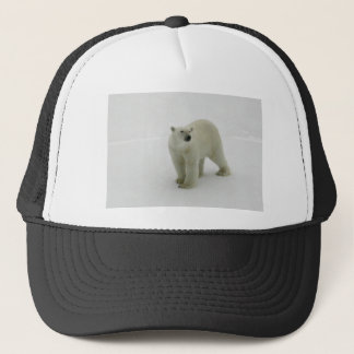 Polar Bear on the Arctic ice Trucker Hat