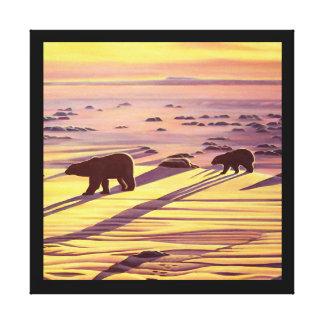 Polar Bear Painting Prints & Posters