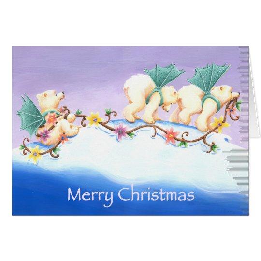 Polar Bear Parade Card