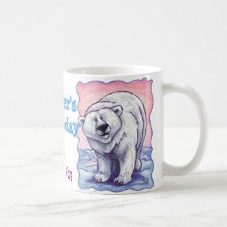 Polar Bear Party Center Classic White Coffee Mug