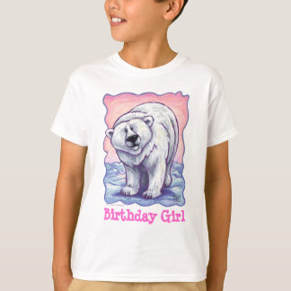 Polar Bear Party Center T-Shirt