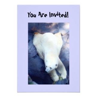 Polar Bear Party Invitation