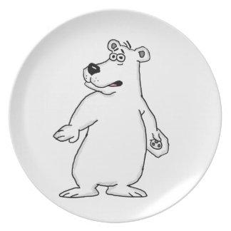 Polar bear party plate