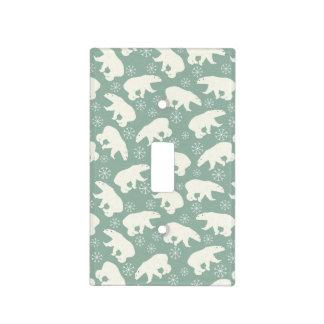 Polar Bear pattern Light Switch Cover