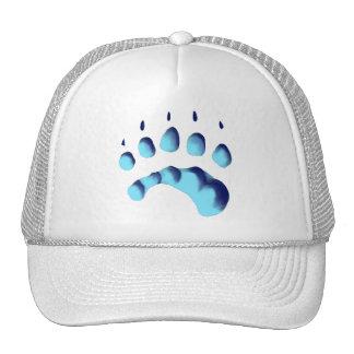 Polar Bear Paw Print Hats