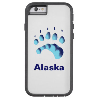 Polar Bear Paw Print Tough Xtreme iPhone 6 Case