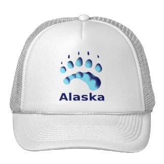 Polar Bear Paw Print Trucker Hat