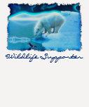 Polar Bear & Penguin Wildlife-supporter Art Shirt