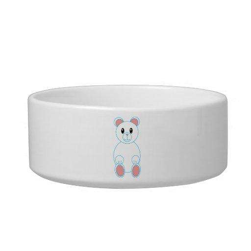 Polar Bear Pet Bowl