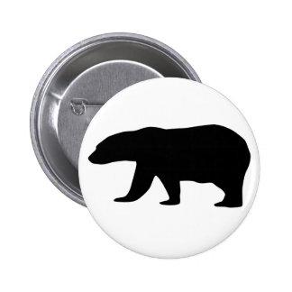 Polar Bear Pinback Button