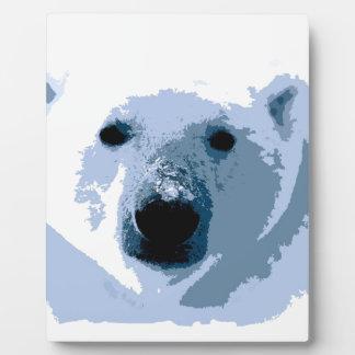 Polar Bear Display Plaques