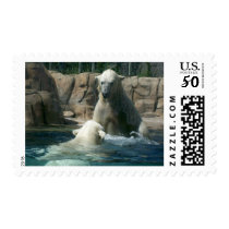 Polar Bear Play Postage