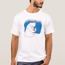 Polar Bear Playing Ukulele T-Shirt