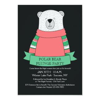 Polar Bear Plunge Party Invitation