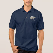 Polar bear polo shirt