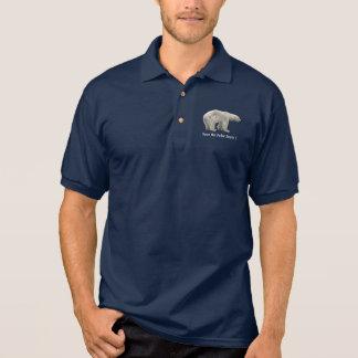 Polar bear polo shirt