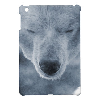Polar Bear Portrait iPad Mini Covers
