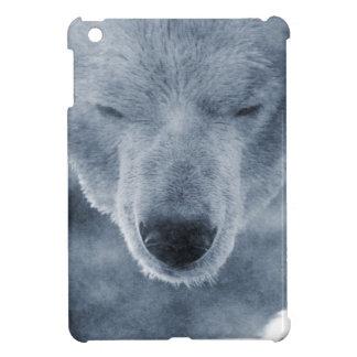 Polar Bear Portrait iPad Mini Covers