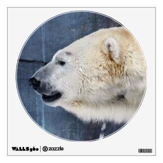 Polar Bear Portrait Wall Sticker